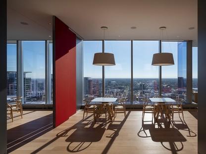 Alvisi Kirimoto design d'intérieur pour des bureaux à Chicago