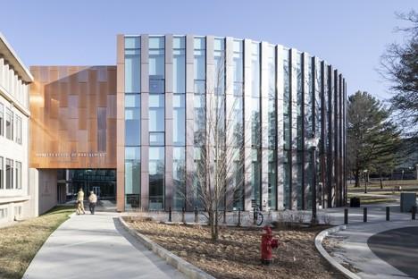 BIG et Goody Clancy Agrandissement Isenberg School of Management UMass Amherst