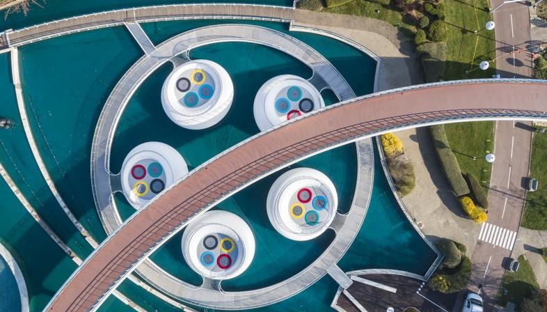 Les architectures éphémères de WAO - Lily pour le Futuroscope de Poitiers