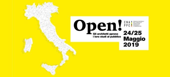 Architecture en Italie cabinets ouverts et expositions