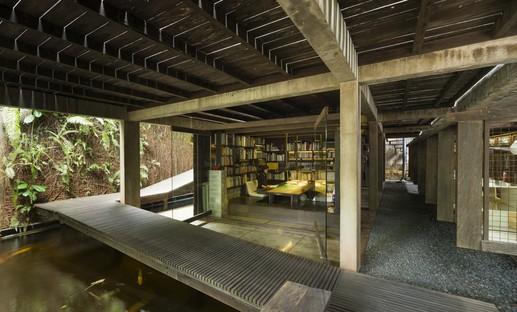 Architectures en Indonésie : une microbibliothèque et une résidence