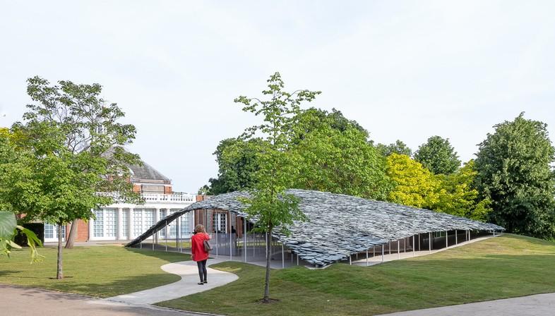 Serpentine Pavilion le projet de Junya Ishigami a été inauguré