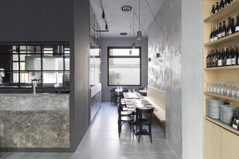 Cabinet DiDea design d'intérieur de deux établissements à Palerme