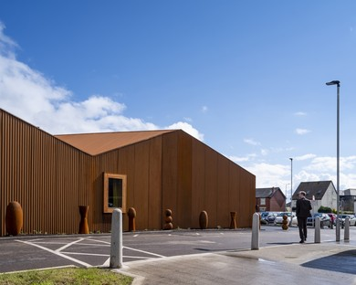 Dow Jones Architects Maggie''s Cancer Centre au Velindre Hospital de Cardiff