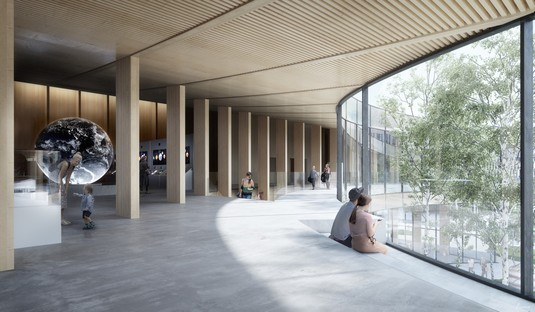 Suède COBE imagine un nouveau musée icône de la durabilité