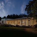 Feilden Fowles Architects centre visiteurs du Yorkshire Sculpture Park<br />