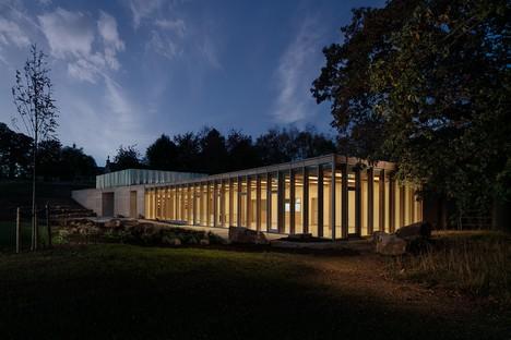 Feilden Fowles Architects centre visiteurs du Yorkshire Sculpture Park<br />