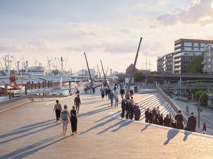 Zaha Hadid Architects Niederhafen River Promenade Hambourg