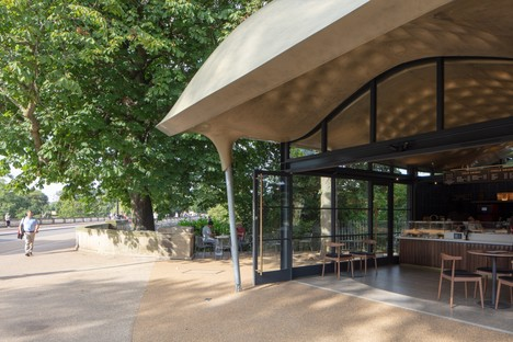 Mizzi Studio The Serpentine Coffee House Londres