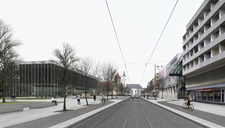 Le Bauhaus Museum de Dessau imaginé par Addenda Architects a ouvert ses portes au public