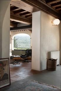 Pierattelli Architetture intérieur d'une ancienne ferme en Toscane