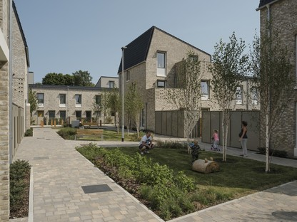 Mikhail Riches Goldsmith Street Norwich des logements sociaux économes en énergie