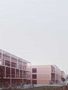 BDR bureau restructure l'école Enrico Fermi à Turin