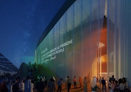 La beauté connecte les personnes, le pavillon italien Expo 2020 Dubai
