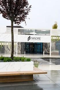 Nouveau visage signé Iosa Ghini Associati pour le FAB (Fiandre Architectural Bureau) de Castellarano