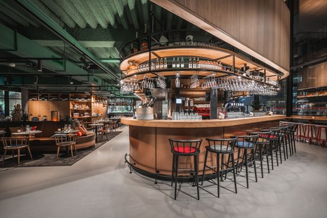 Powerhouse Company signe The Traveller, restaurant et hub social à Amsterdam