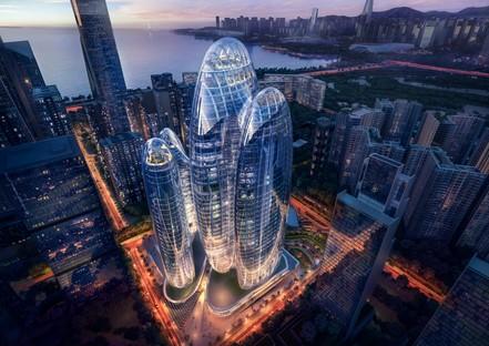 Zaha Hadid Architects signe le siège social d'OPPO à Shenzhen