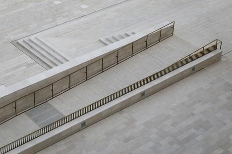 C+S Architects une intervention urbaine pour la Piazza del Cinema, Lido de Venise