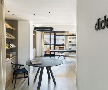 Didea Design d'intérieur de bureaux à Milan et Palerme