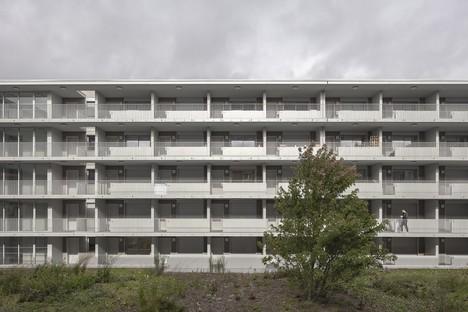 KAAN Architecten Bâtiment polyédrique à Bottière Chénaie Nantes