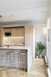 Toledano + architects Wood Ribbon design d'intérieur à Paris