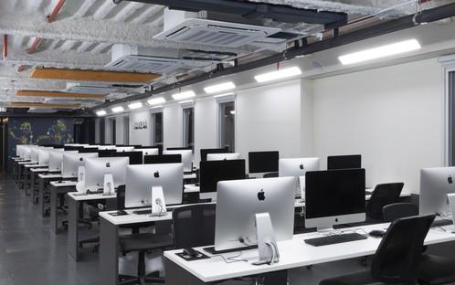Superlimão Escola 42 intérieur d'une école d'informatique à São Paulo Brésil