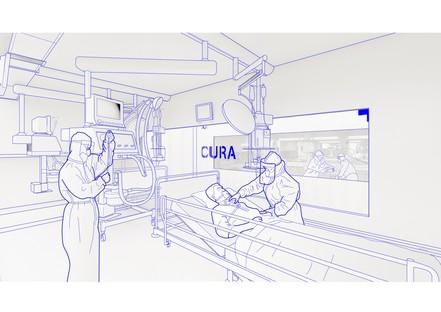 L'architecture entre sur le terrain pour l'urgence Covid-19