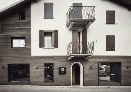 Lissoni Associati 75 Café and Lounge, bar à vins à Ponte di Legno Brescia