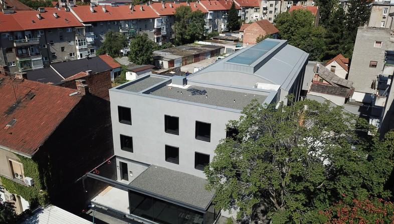 3LHD transforme le cinéma Urania de Zagreb en cabinet d'architectes