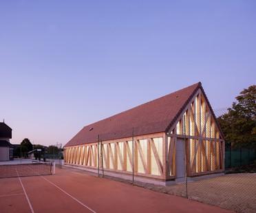 Lemoal Lemoal Architectes Nouvelles structures pour le Garden Tennis de Cabourg