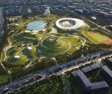 MAD Architects Architecture et paysage - le Quzhou Sports Park