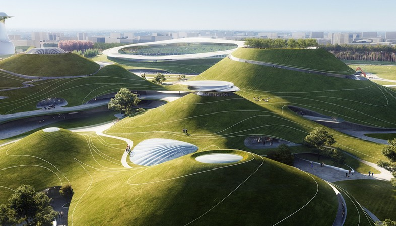MAD Architects Architecture et paysage - le Quzhou Sports Park