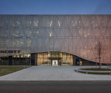 IttenBrechbühl Architects siège principal de Scott Sports Givisiez Suisse