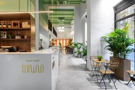 PuccioCollodoro Architetti design d'intérieur Gran Cafè Torino à Palerme