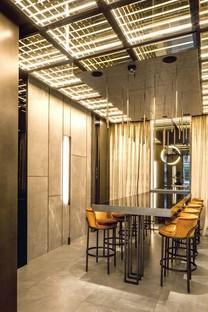 Maurizio Lai Architects interior design pour AJI, plats à emporter et service de livraison