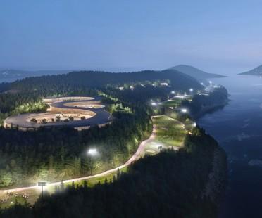 UNStudio un plan directeur durable pour Gyeongdo Island South Korea