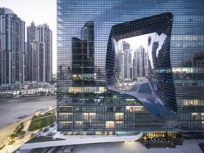 Zaha Hadid Architects ME Dubai hotel et The Opus à Dubaï