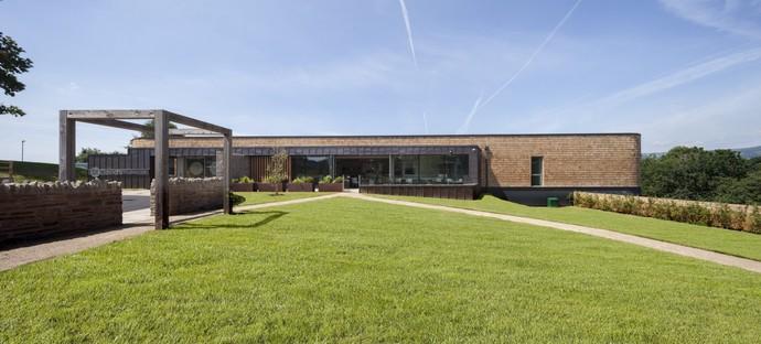 KKE Architects extension du St David's Hospice Newport