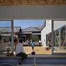 Yamazaki Kentaro Design Workshop une terrasse dans la ville Hayama House