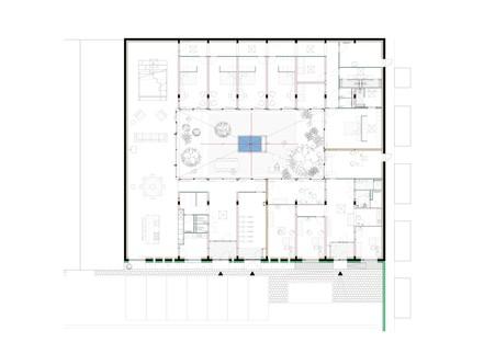 MVRDV transforme un bureau en résidence Villa Stardust à Rotterdam