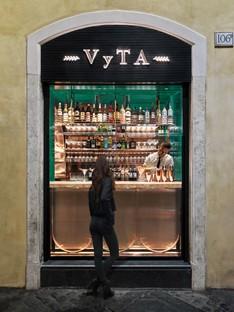 COLLIDANIELARCHITETTO design d'intérieur éclectique dans le centre historique de Rome VyTA Farnese