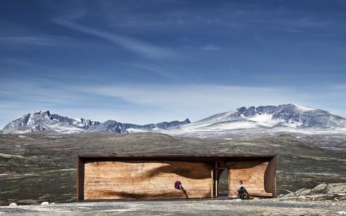 Exposition à l'Aedes Architecture Forum: Arctic Nordic Alpine – In Dialogue With Landscape. Snøhetta