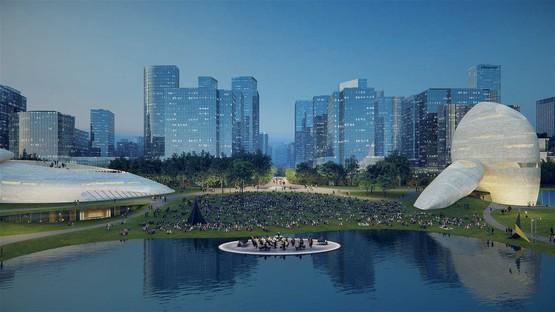Projections dans le futur MAD dévoile le projet du Shenzhen Bay Culture Park
