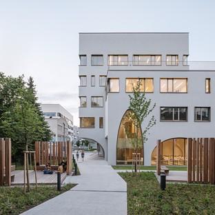 Berger+Parkkinen Associated Architects Laboratoires de l'Institut de pharmacie Salzbourg
