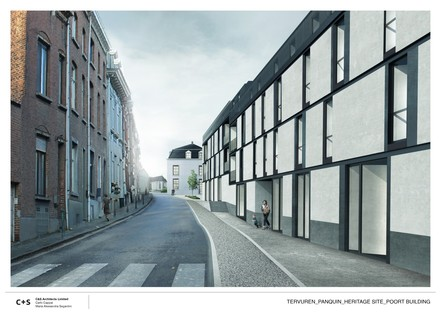 C+S Architects régénération urbaine du complexe des anciennes écuries royales de Tervuren
