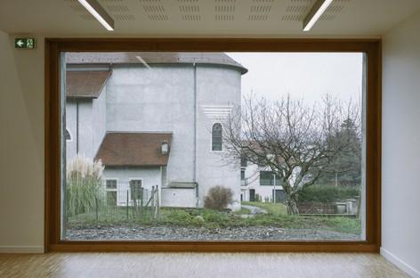 Ateliers O-S architectes extension des équipements scolaires à Lugrin