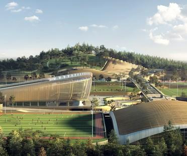 Korean National Football Centre de Séoul, le projet de UNStudio est le lauréat