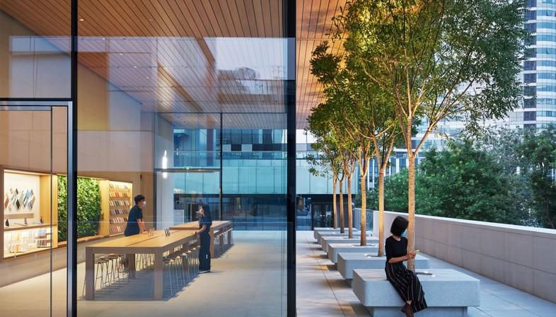 Foster + Partners signe Apple Sanlitun, le nouvel Apple store de Pékin