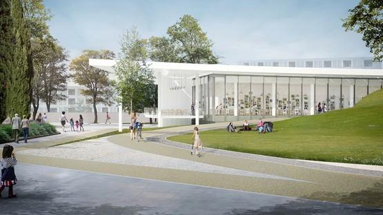 Alvisi Kirimoto Centre municipal polyvalent, École maternelle et Parc Rome