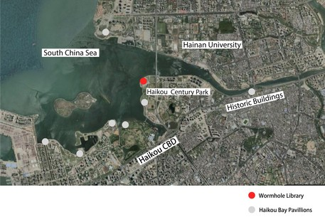 MAD Architects Wormhole Library un paysage de rêve à Haikou
